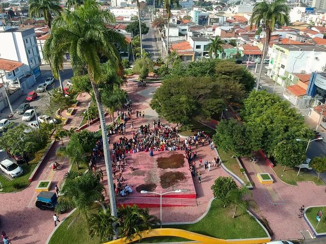 Praça da Kalilândia, Feira de Santana, Bahia, Brasil#dronephotography #djispark #drone #DroneDJI #DroneBahia#aerial_view#aerialview #viewfromthetop #dji  #drones #dronelife #droneworld #droneshot #aerialphotography