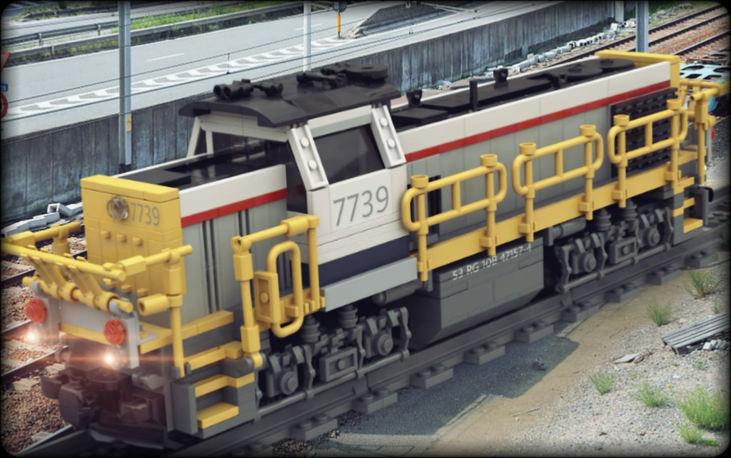 LEGO - NMBS/SNCB Class 77