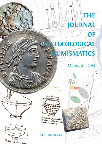Journal of Archeological Numismatics Vol 8 cover