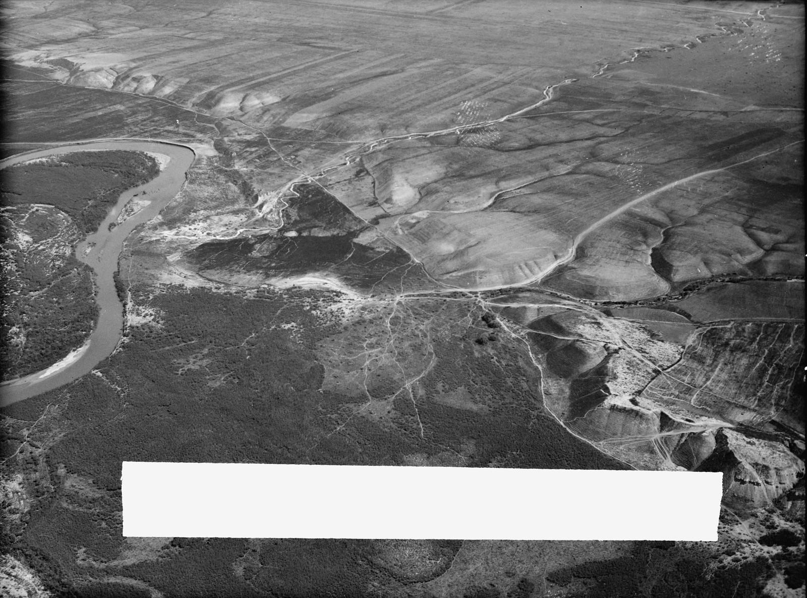 Полет на юг через Иорданский Разлом. Земля Галаадская. Восточные предгорья Иорданской долины