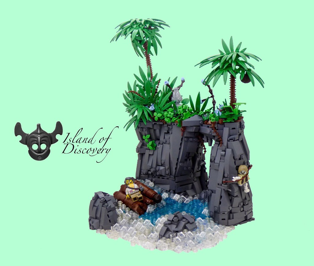 Shipwrecked (custom built Lego model)