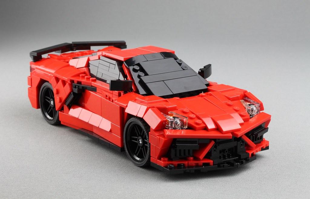 C8 Corvette - New front