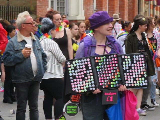 Badges Leicester Pride 2019