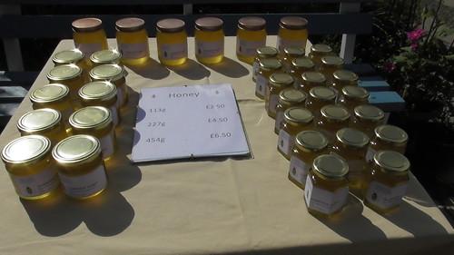 Honey for sale Aug 19