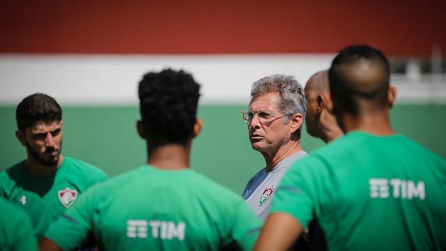 Treino do Fluminense - 31/08/2019