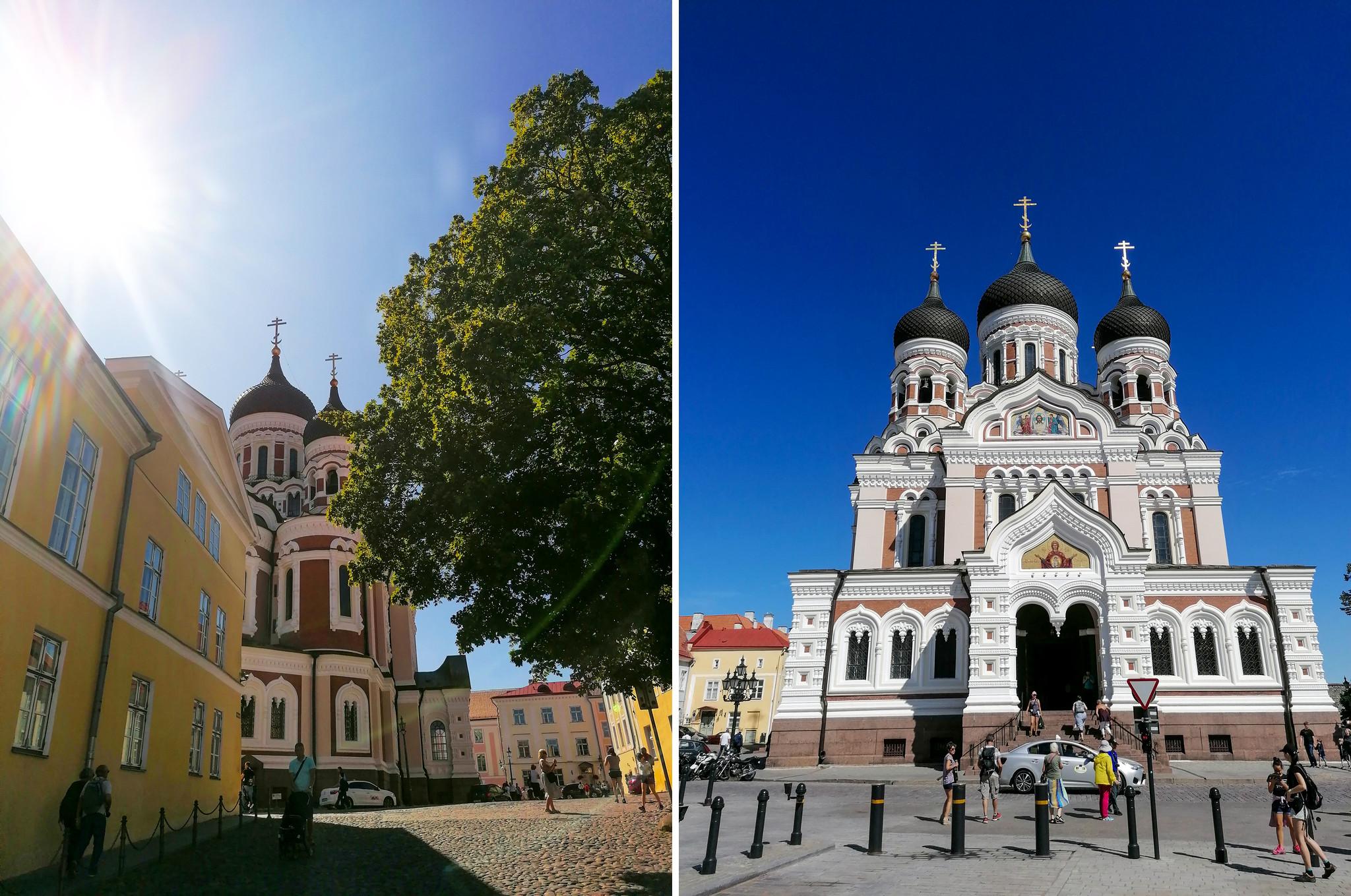 Tallinna - Aleksanteri nevskin katedraali