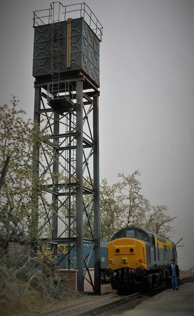 Shirebrook's Water Tower