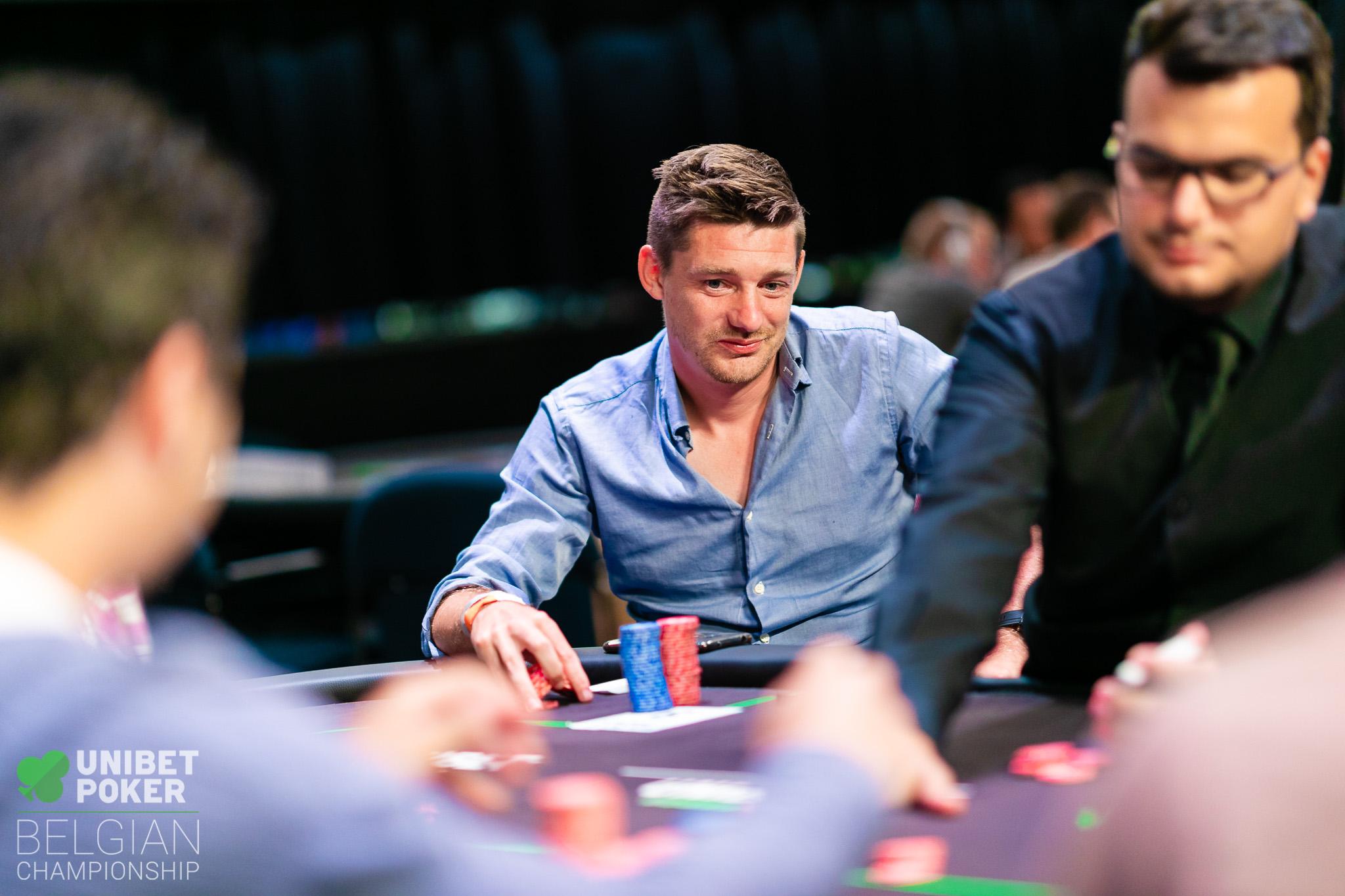 Unibet Poker Belgian Championship 2019 - Main Event (Day 2) 023 Glenn Laureys ((C) Tambet Kask 2019)