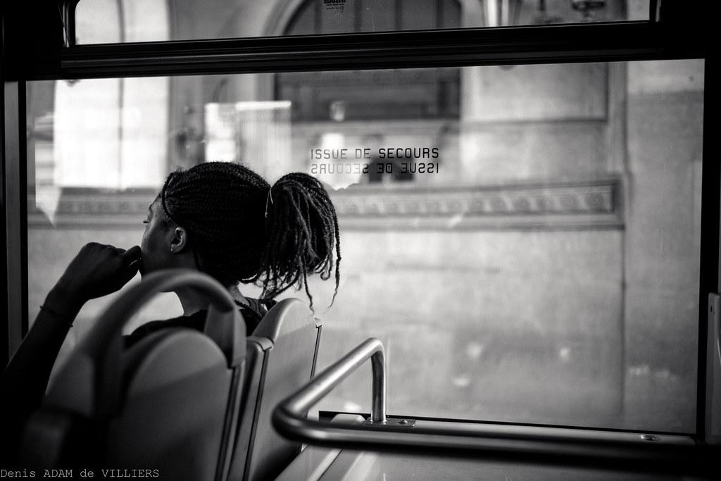 Le voyage en bus.