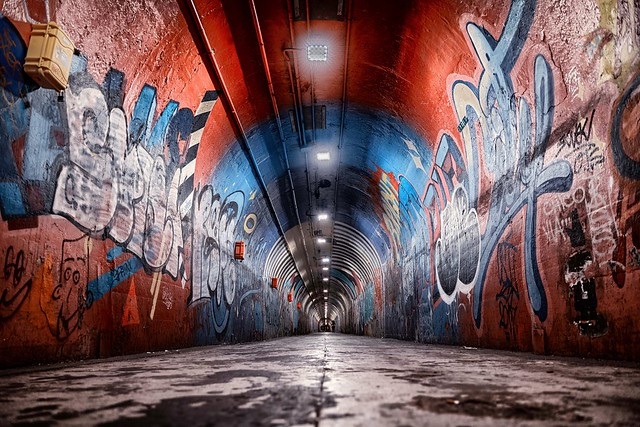One of my favorite tunnels...