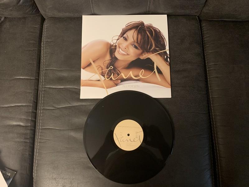 Janet Jackson Vinyl