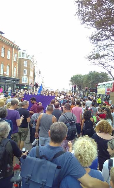 anti-porogation march