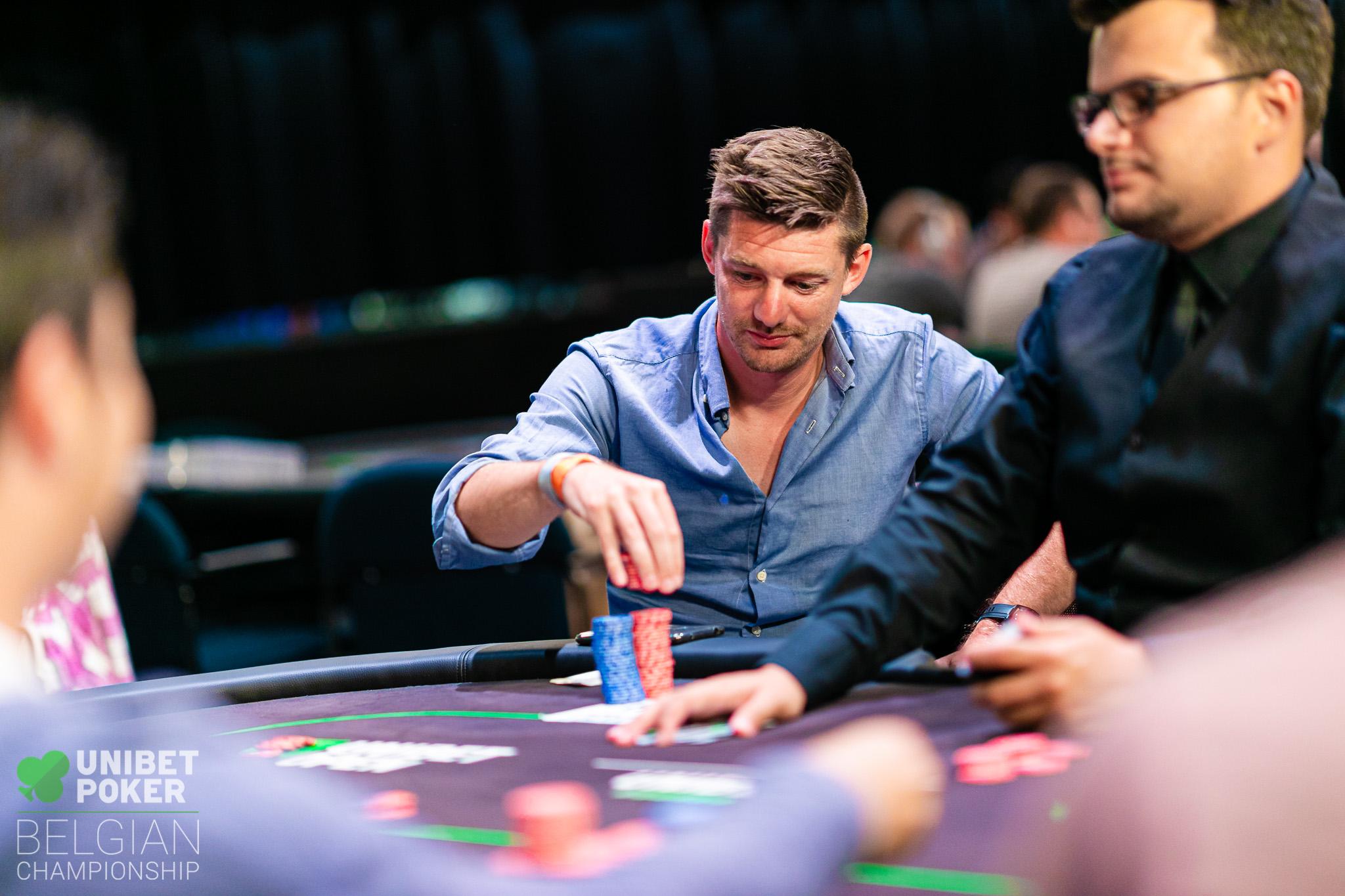 Unibet Poker Belgian Championship 2019 - Main Event (Day 2) 024 Glenn Laureys ((C) Tambet Kask 2019)