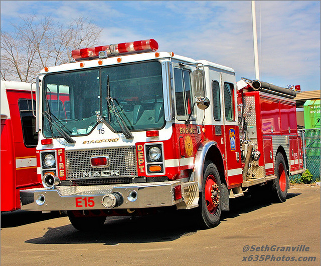 Stamford Fire Rescue Engine 15