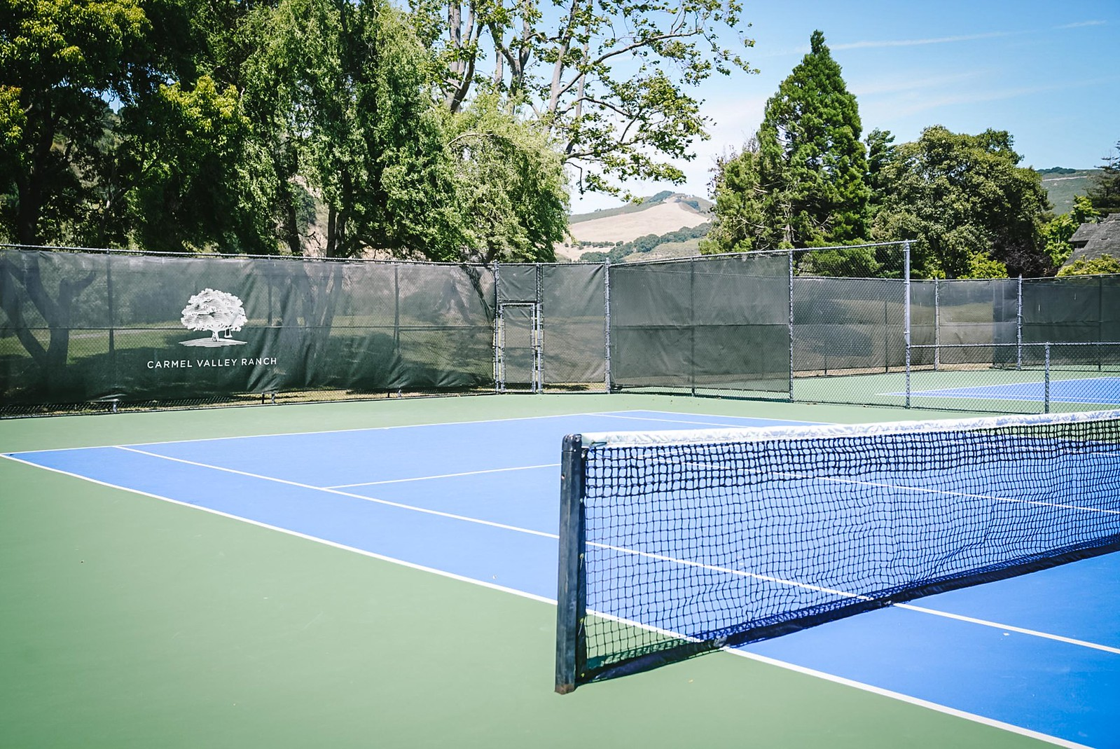 Carmel Valley ranch tennis courts