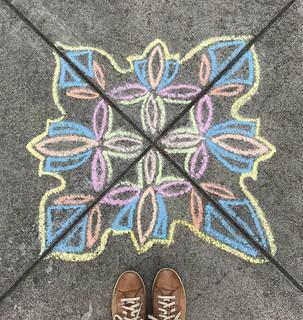 Chalk bomb