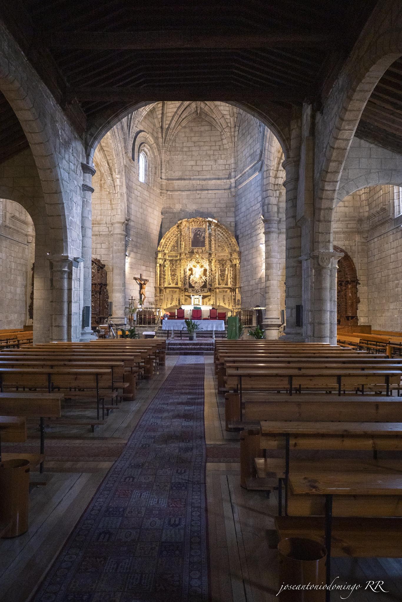 Interior de la Iglesia de Ntra. Sra. de la Asunción,