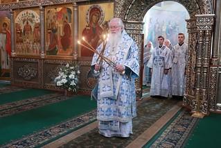 30.08.2019 | Богослужение в Иверском монастыре