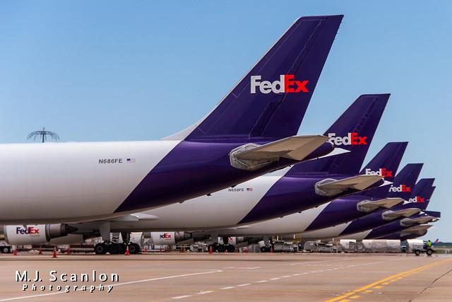 N686FE FedEx   Airbus A300F4-605R   Memphis International Airport