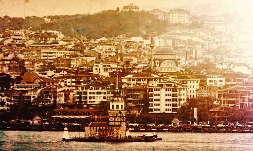 bosforo kiz torre doncella estambul istambul bosphoro mar sea landscape sunser atardecer turquia turkey city view cidudad ciudad citiescape colina hill istanbul стамбул 伊斯坦布尔
