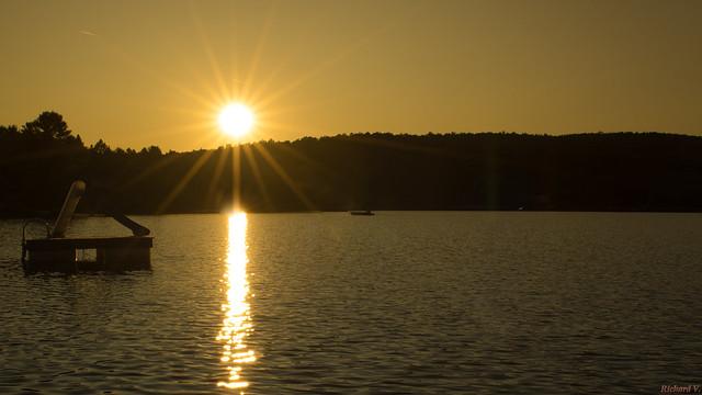 Coucher de soleil, sunset - Montpellier, P.Q., Canada 4098