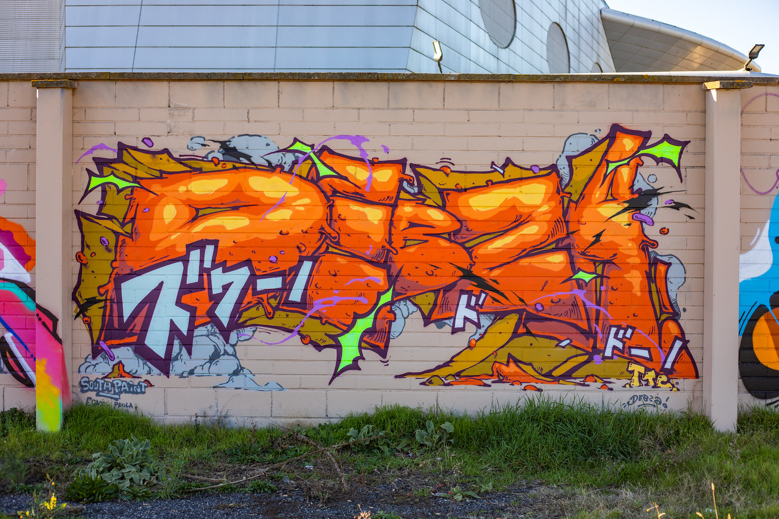 graffiti streetart painting debza ttc