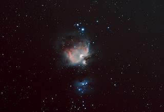 M42 + M42 Core Blend PS Edit Stack_75frames_485s_WithDisplayStretch | by BlackWikkett