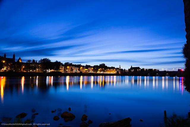 Blue hour Maastricht