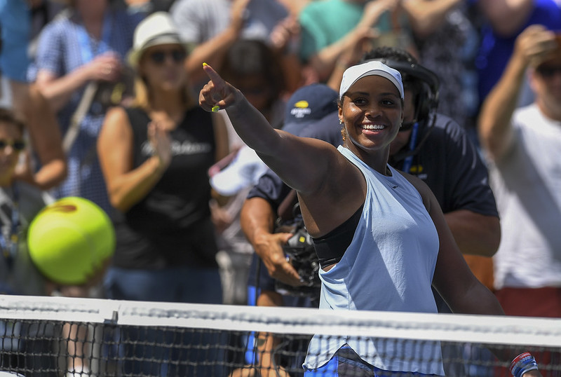 Taylor Townsend。(達志影像)