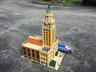 LEGO Freedom Tower and FEC 425 (Dodge Island Lead)