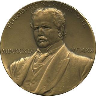 Vail Public Service medal obverse