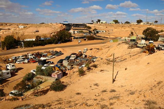 Coober Pedy Street Scene, Outback South Australia