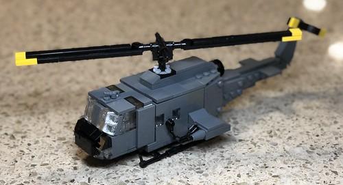 UH-1C XM30 Huey Gunship