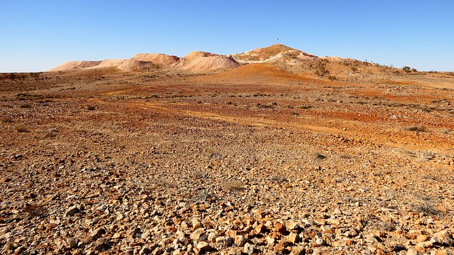 Could YOU find Opal Here? Coober Pedy, South Australia