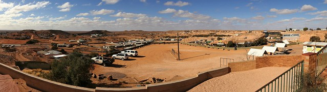Coober Pedy from the Big Winch Lookout, South Australia