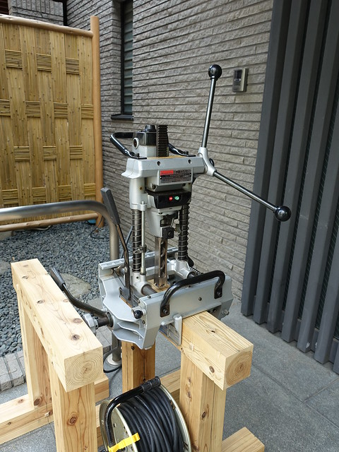 hollow chisel machine
