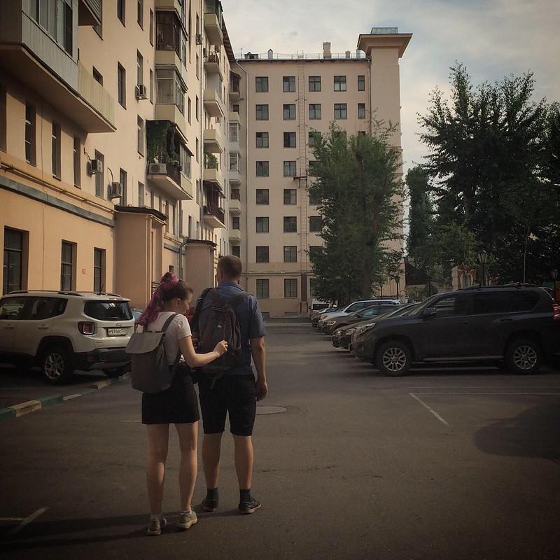 Экскурсия с Надей