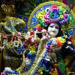 ISKCON Juhu Sringar Deity Darshan on 1st Sep 2019