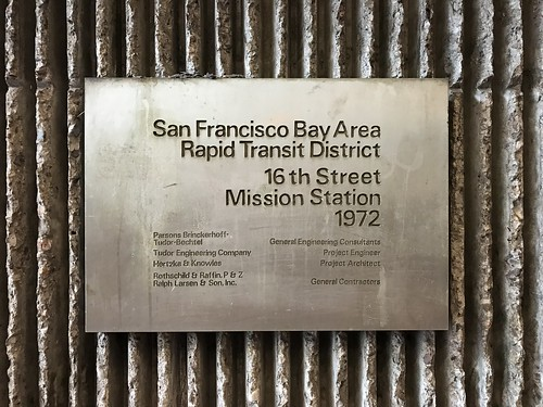 16th Street Mission Station plaque