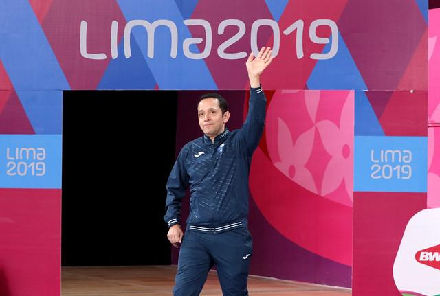 Raúl Anguiano premiación Juegos Parapanamericanos Lima 2019