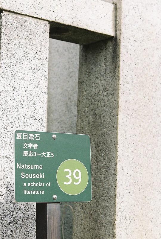 Rolleiflex2 8F+Rolleikin+Kodak Color Plus200雑司が谷霊園夏目漱石の墓