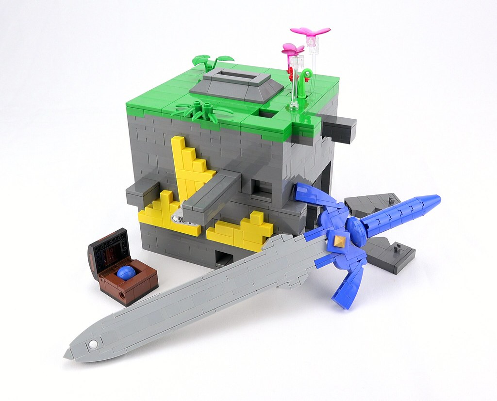 The Sword Box - Lego Zelda Puzzle