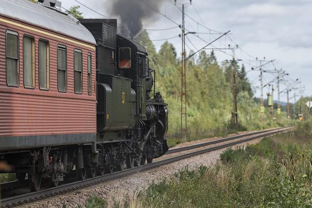 Steam train passing.......