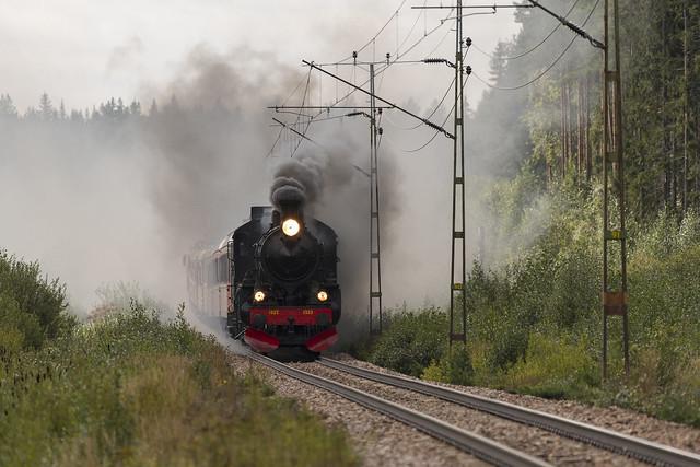 Steam train coming....