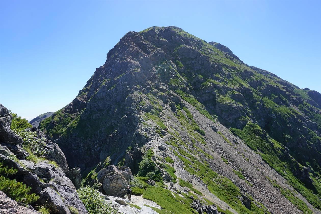 塩見岳(南アルプス、3047m)
