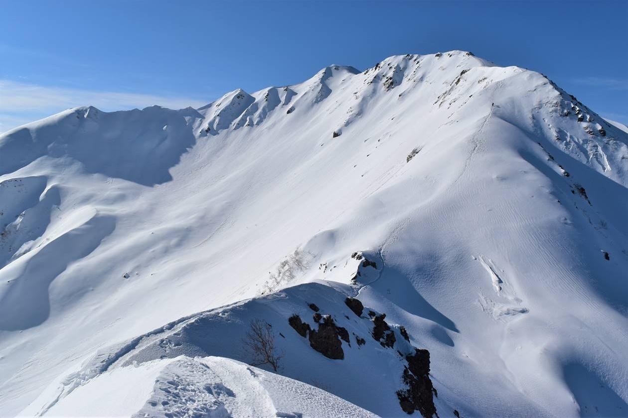 仙丈ヶ岳(南アルプス、3033m)