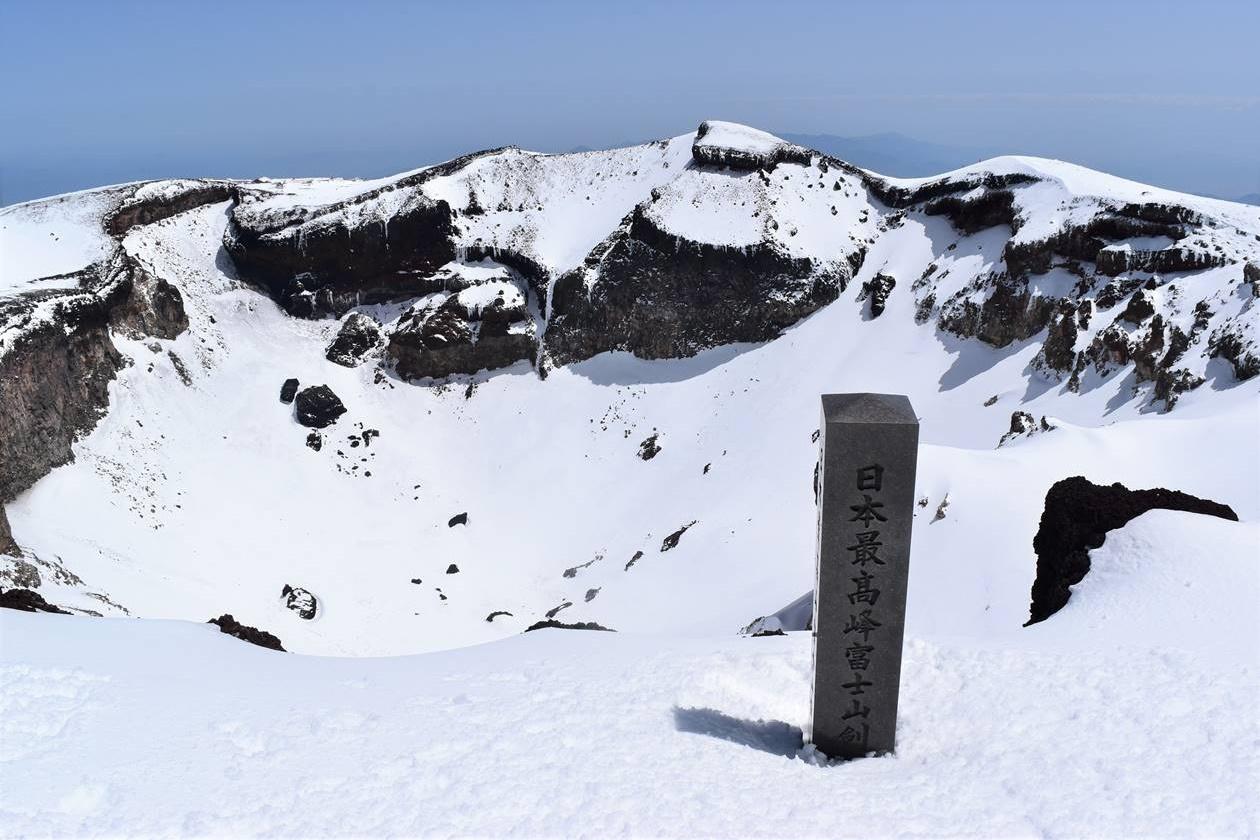 富士山(3776m)