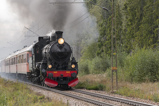 Steam train coming...