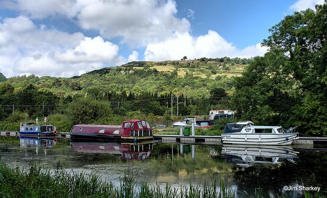 moored at Bowling Basin Scotland