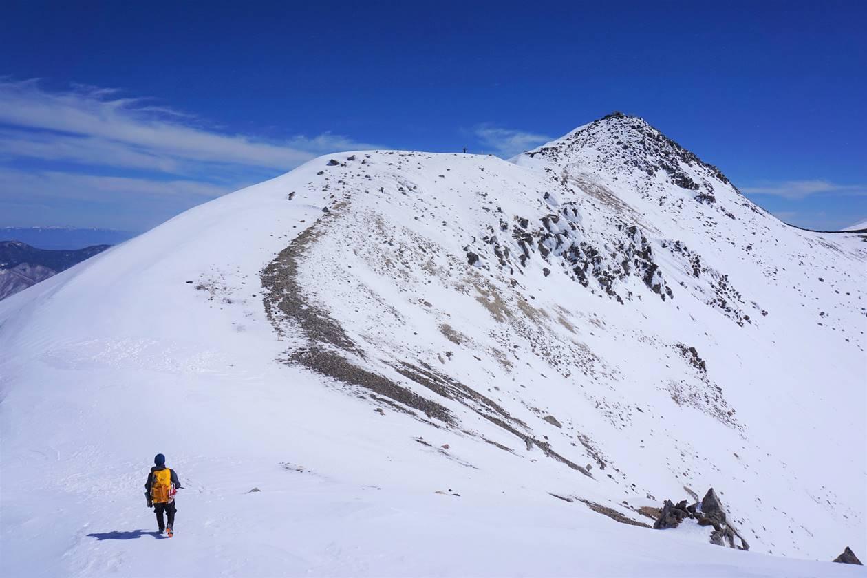 乗鞍岳(北アルプス、3026m)